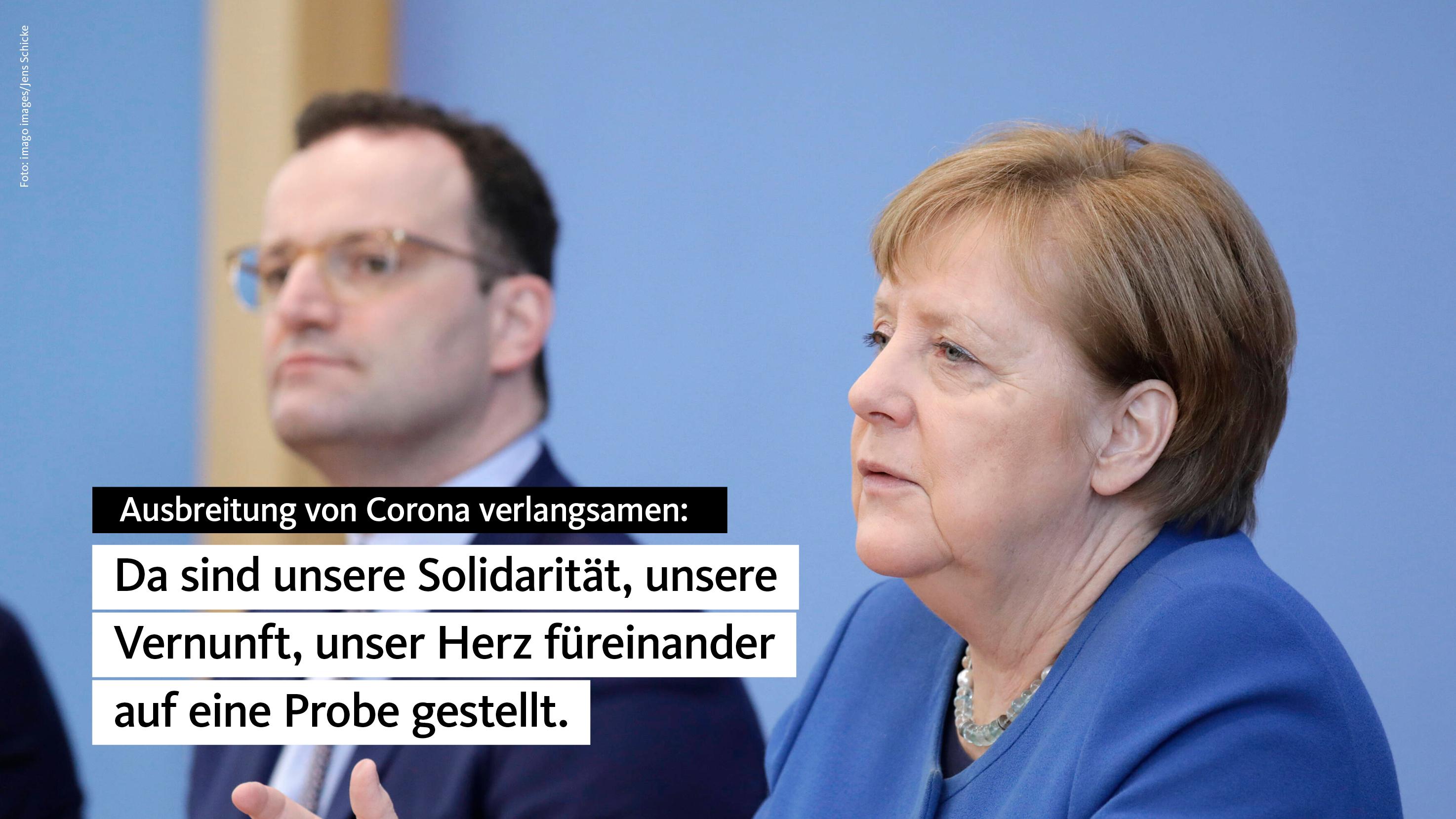 Merkel Corona