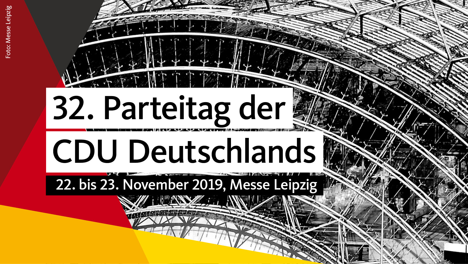 32. Parteitag der CDU Deutschlands in Leipzig