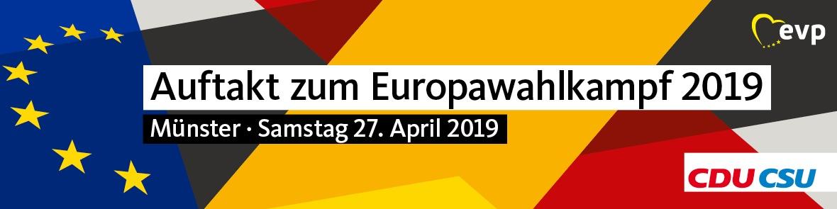 Auftakt zum Europawahlkampf 2019