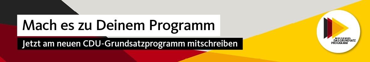Grundsatzprogramm: Beteiligung für alle Mitglieder
