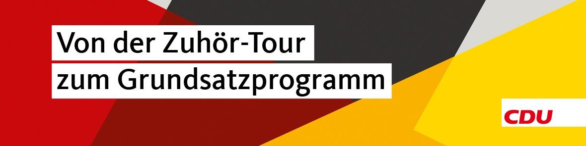 Von der Zuhör-Tour zum Grundsatzprogramm