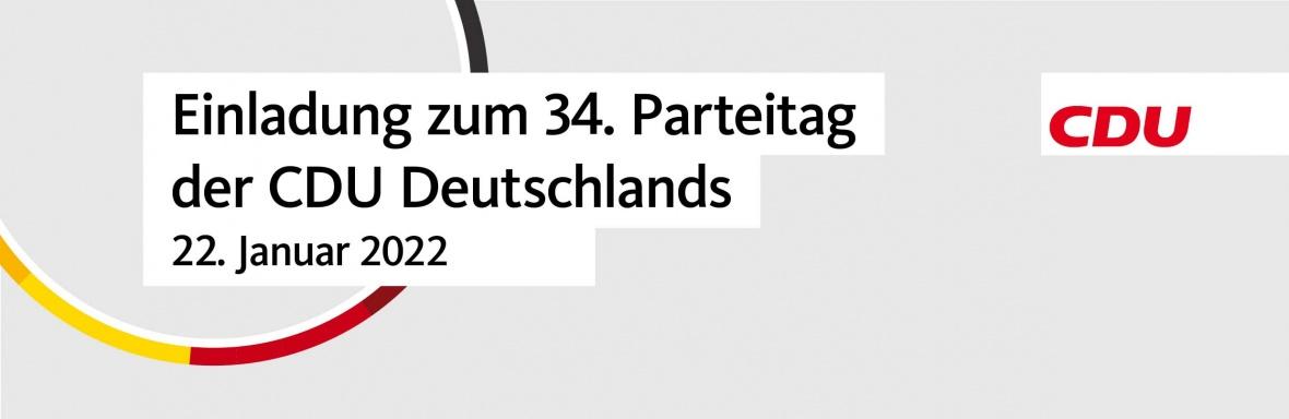 33. Parteitag der CDU Deutschlands