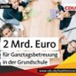 Koalitionsvertrag von CDU, CSU und SPD
