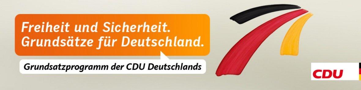 Grundsatzprogramm der CDU Deutschlands