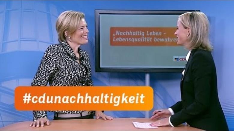 CDU-Kommission zu nachhaltigem Leben nimmt Arbeit auf