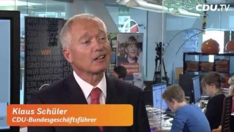 """Kampagne Aktuell"" (Folge II) mit Klaus Schüler"