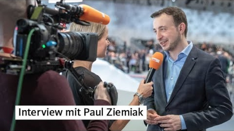 Unser neuer Generalsekretär Paul Ziemiak im CDU.TV-Interview