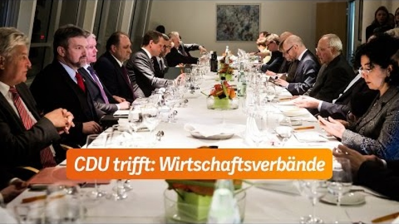 CDU trifft: Wirtschaftsverbände