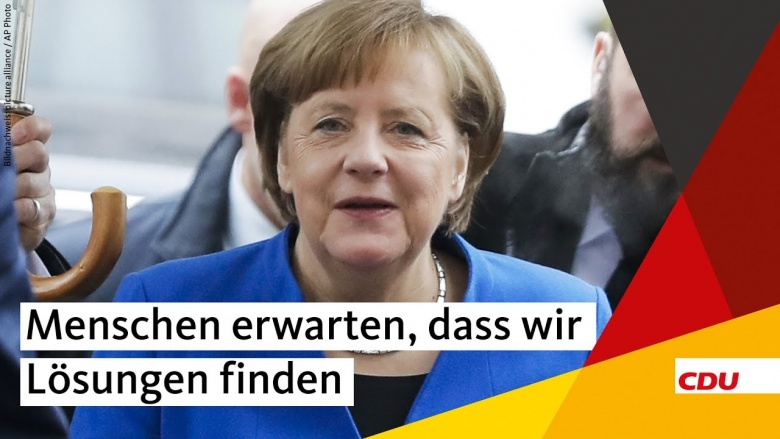 Merkel: Menschen erwarten, dass wir Lösungen finden