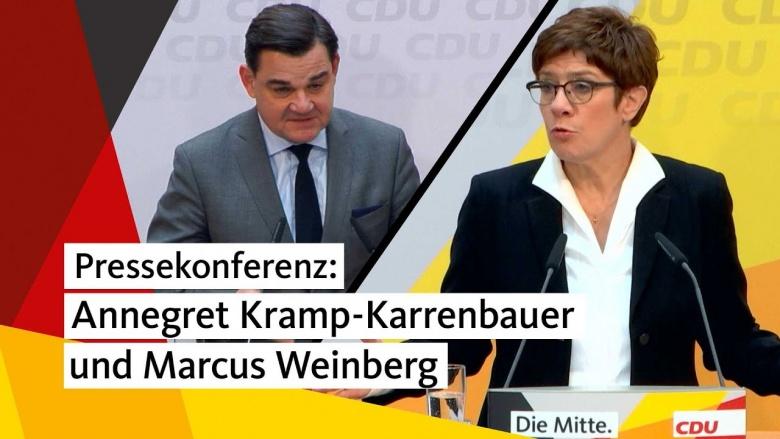 pressekonferenz_mit_annegret_kramp-karrenbauer_und_marcus_weinberg_nach_den_gremiensitzungen