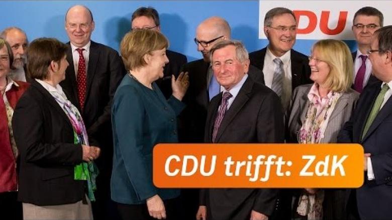 Spitzengespräch von CDU und ZdK