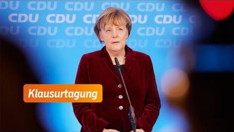 """Angela Merkel: """"Wir werden unsere gemeinsamen Werte verteidigen"""""""