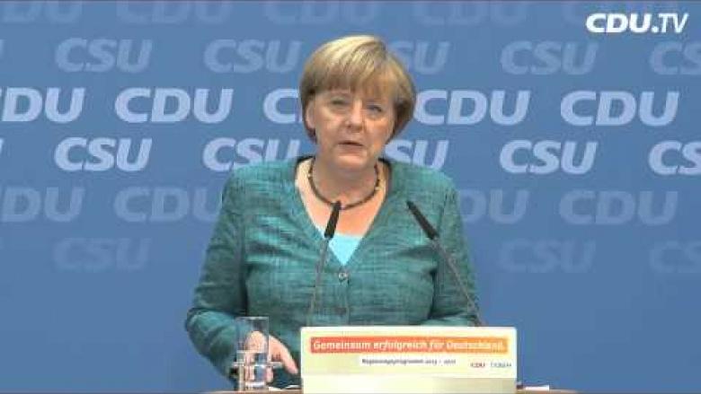 """""""Gemeinsam erfolgreich für Deutschland."""""""