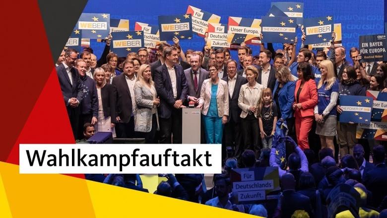 Auftakt in die heiße Phase des Europapwahlkampfs