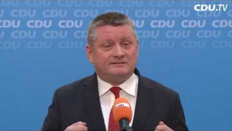 """Gröhe: """"CDU-Bundesvorstand für Koalitionsverhandlungen mit SPD"""""""