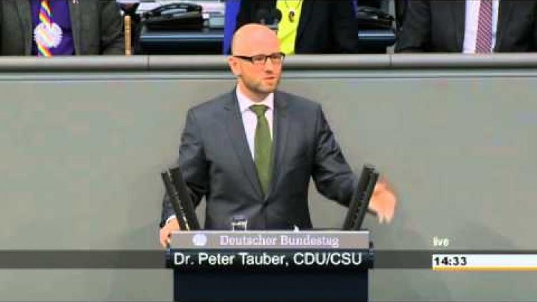 """Tauber: """"Wir müssen den gesamtgesellschaftlichen Zusammenhalt fördern"""""""