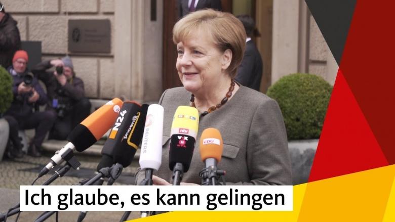 Merkel: Ich glaube, es kann gelingen
