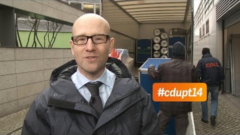 Peter Tauber: Auf zum CDU-Parteitag nach Köln!