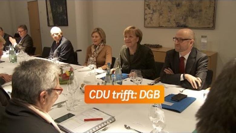 CDU trifft: DGB