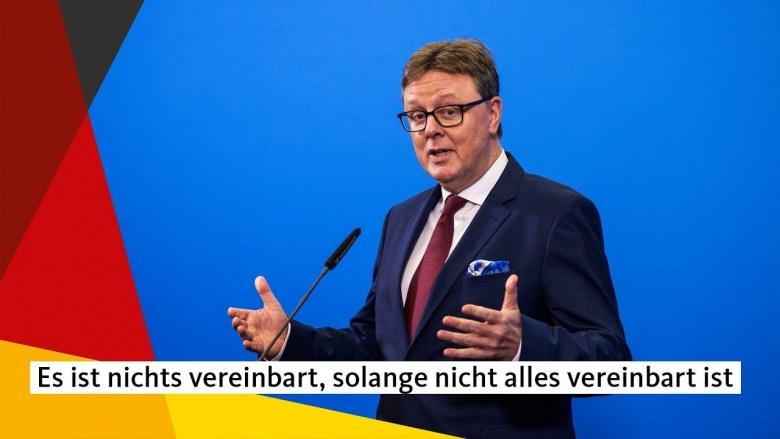 """Grosse-Brömer: """"Es ist nichts vereinbart, solange nicht alles vereinbart ist."""""""