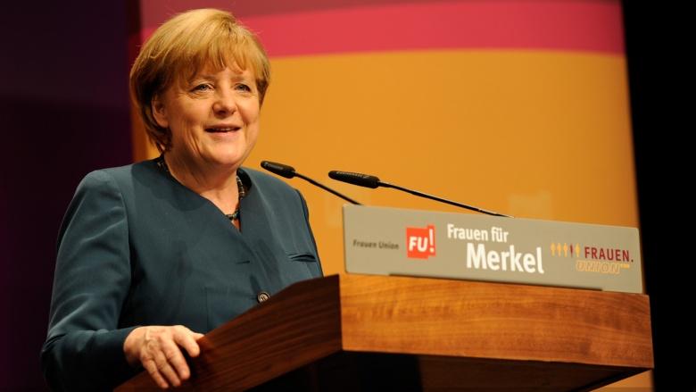 """Angela Merkel bei """"Frauen für Merkel"""""""