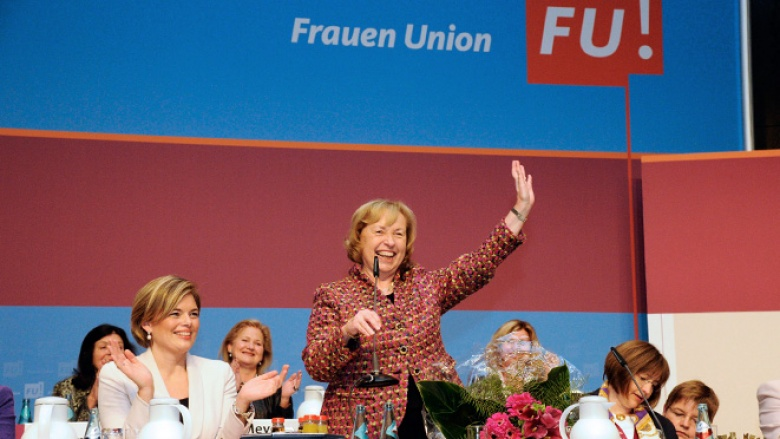 Foto: Bundesdelegiertentag der Frauen Union mit Maria Böhmer
