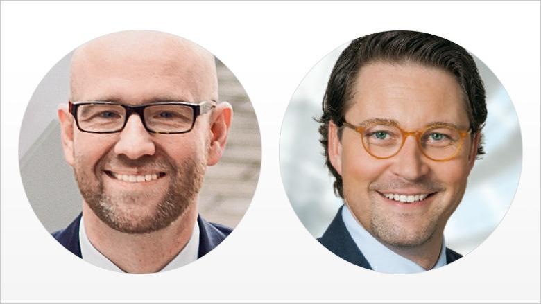 CDU-Generalsekretär Peter Tauber und CSU-Generalsekretär Andreas Scheuer