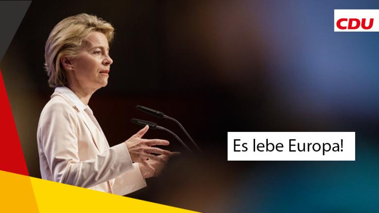 Ursula von der Leyen: Wir müssen kämpfen für Europa!