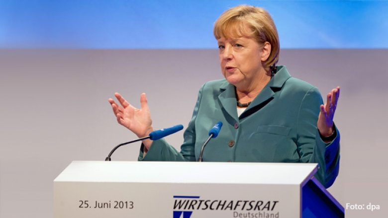 Bundeskanzlerin Angela Merkel beim CDU-Wirtschaftsrat