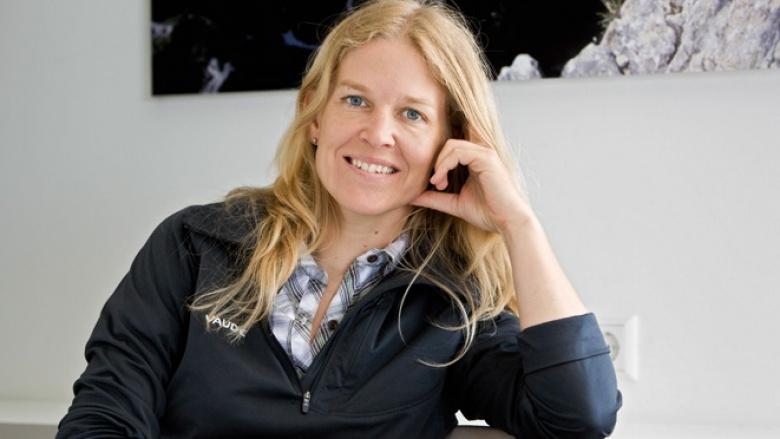 """Dr. Antje von Dewitz, Geschäftsführerin der Bergsport- und Outdoormarke """"Vaude"""""""