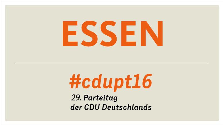 Bundesparteitag 2016 in Essen