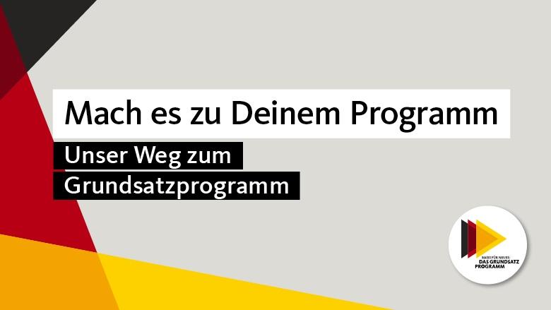 Unser Weg zum Grundsatzprogramm der CDU