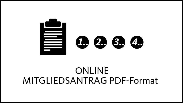 Online Mitgliedsantrag PDF-Format
