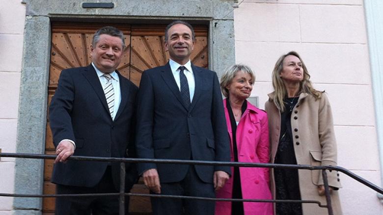 Treffen von CDU und UMP