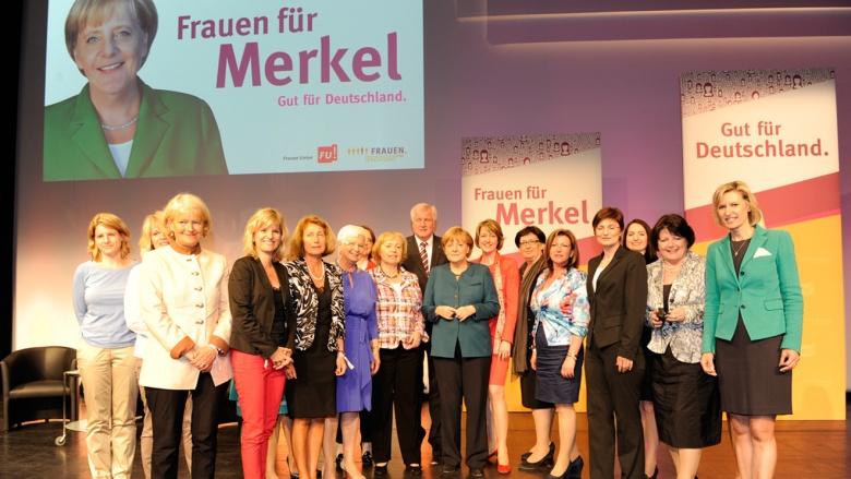 Frauen für Merkel