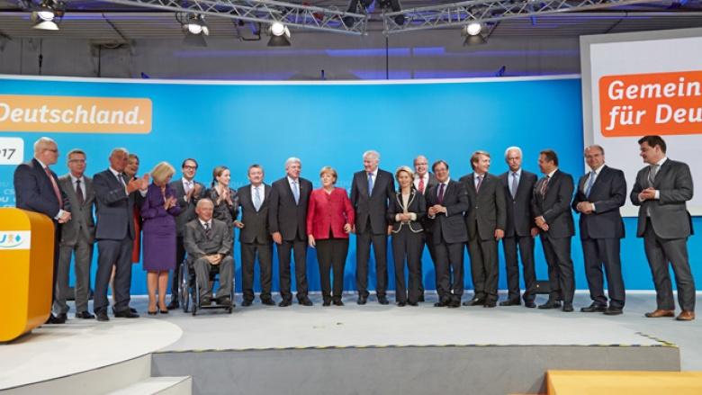 Kongress von CDU und CSU zum Regierungsprogramm