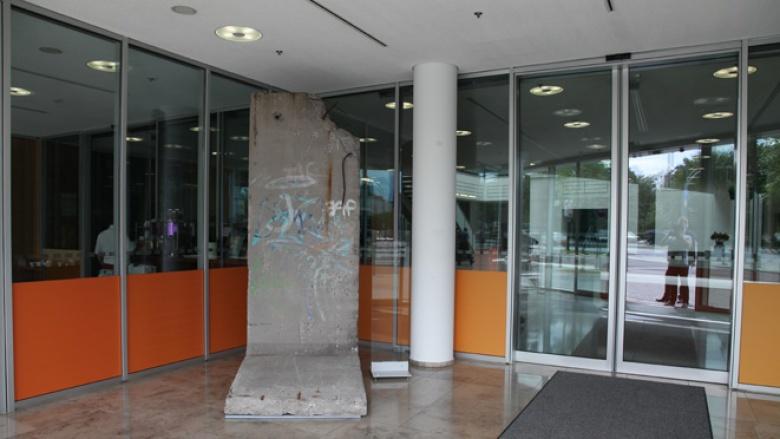 Berliner Mauer im Foyer des Konrad-Adenauer-Hauses