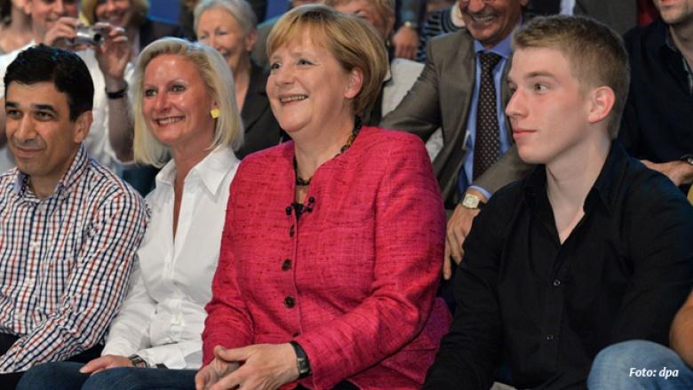 """ARD-""""Wahlarena"""": Zuschauer fragen, Angela Merkel antwortet"""