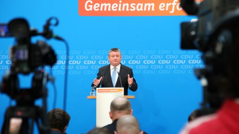 Hermann Gröhe bei der Pressekonferenz