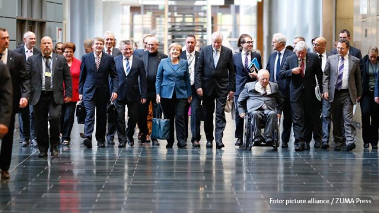 Zweites Sondierungsgespräch von CDU, CSU und SPD
