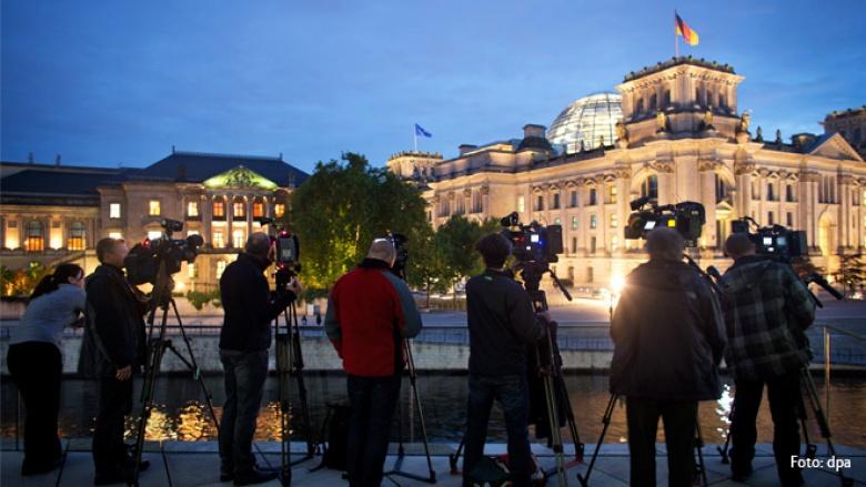 """""""Respekt und Offenheit"""" - aber keine Koalitionsverhandlungen von Union und Grünen im Bund"""