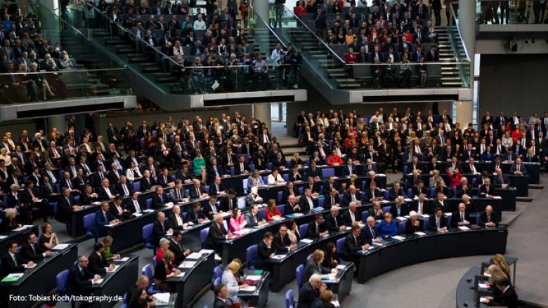 Foto: 18. Deutscher Bundestag konstituiert
