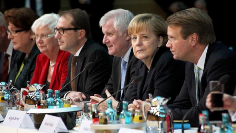 """Vierte """"Große Runde"""" der Koalitionsverhandlungen"""