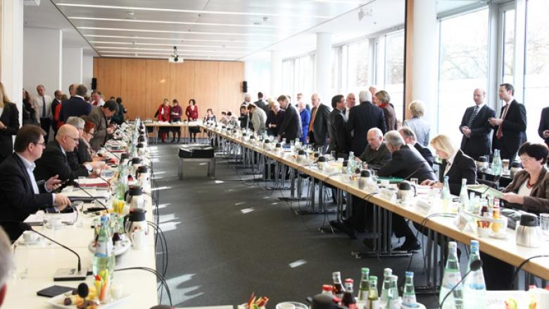 """Fünfte """"Große Runde"""" der Koalitionsverhandlungen"""