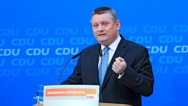 Pressekonferenz von CDU-Generalsekretär Hermann Gröhe am 18. November 2013