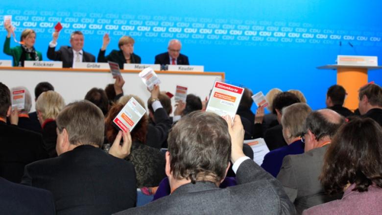 Foto vom Bundesausschuss der CDU