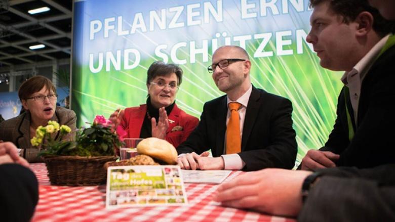 Peter Tauber auf der Grünen Woche (Foto: Tobias Koch)