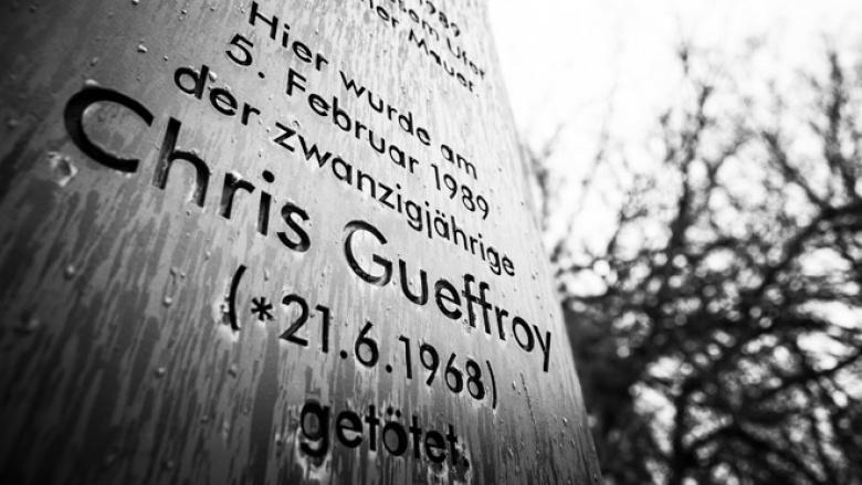 Gedenken an die Maueropfer (Foto: Tobias Koch)
