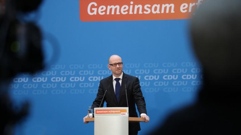 Der Generalsekretär der CDU, Peter Tauber.