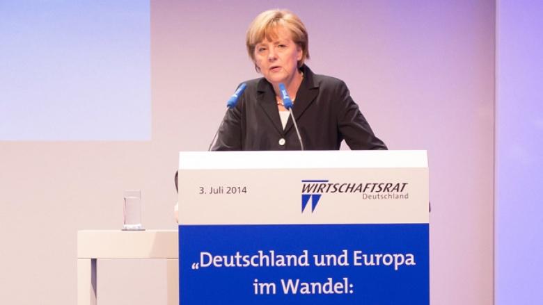"""Merkel: """"Keine neuen Schulden – keine Steuererhöhungen!"""""""